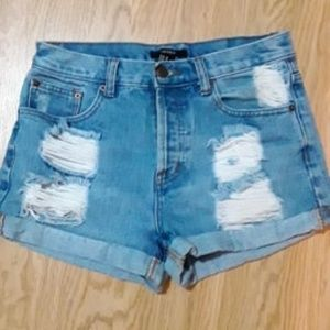3 for $30 Jean/ Denim Distressed Shorts SIZE 28